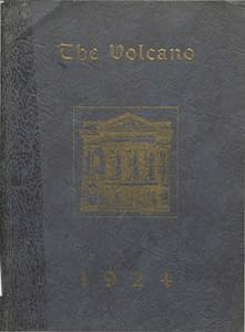 1924 Hornellsville Yearbook Cover