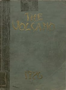 1926 Hornellsville Yearbook Front Cover
