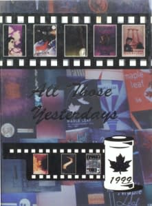 1999 Hornell Yearbook Front Cover