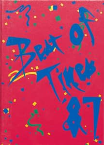1987 Hornell Yearbook Front Cover