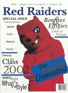 2002 Hornell Yearbook Front Cover