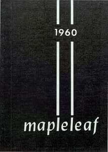 1960 Hornell Yearbook Front Cover