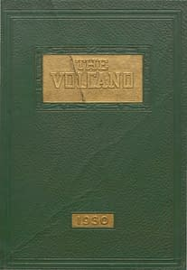 1930 Hornell Yearbook Front Cover