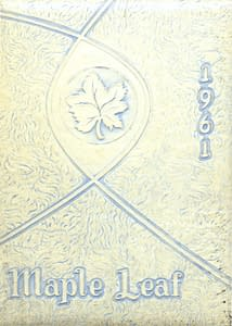 1961 Hornell Yearbook Front Cover