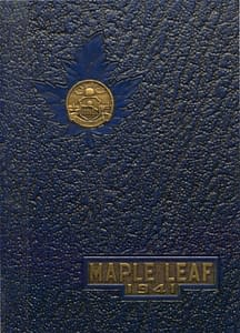 1941 Hornell Yearbook Front Cover