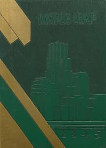 1945 Yearbook Front Cover