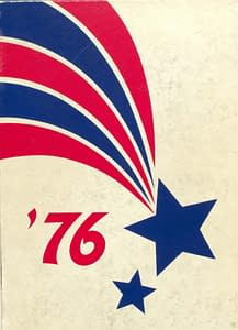 1976 Hornell Yearbook Front Cover
