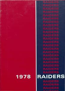 1978 Hornell Yearbook Front Cover