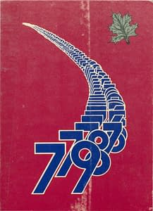 1979 Hornell Yearbook Front Cover
