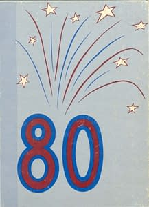 1980 Hornell Yearbook Front Cover