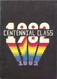 1982 Hornell Yearbook Front Cover
