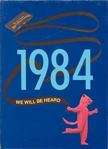1984 Hornell Yearbook Front Cover