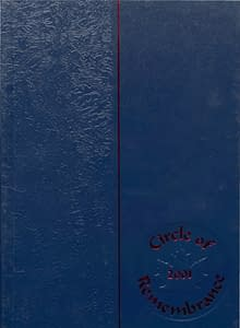 2001 Hornell Yearbook Front Cover