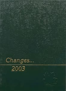 2003 Hornell Yearbook Front Cover